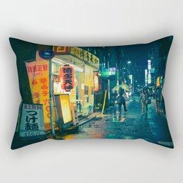 Tokyo night - Wandering Citizen Rectangular Pillow
