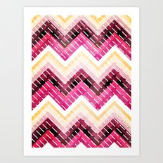 Triangles 2 Art Print