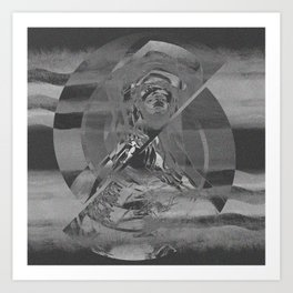 mary vicodin Art Print