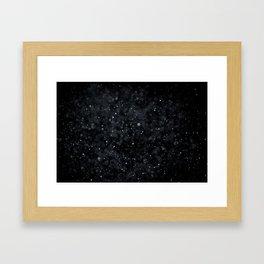 Snowfall 2 Framed Art Print