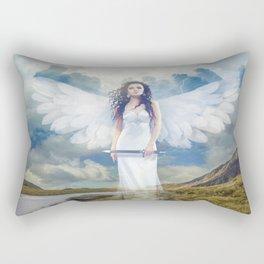 Angels Protection Rectangular Pillow