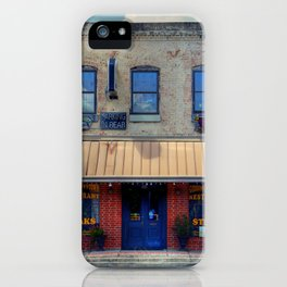 Giddings Downtown Restaurant iPhone Case