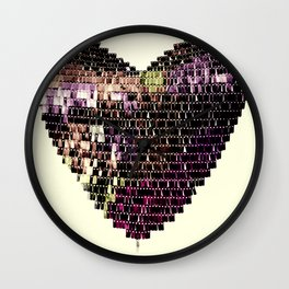 Deeper In Love Wall Clock