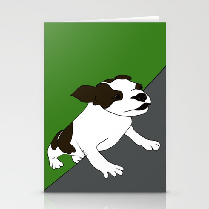 Annie The Boston Terrier Stationery Cards