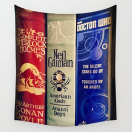 Library of Fun Wall Tapestry