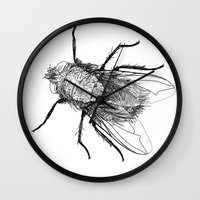 apollonia Wall Clocks featuring Apollonia Saintclair - L'irritation I by From Apollonia with Love