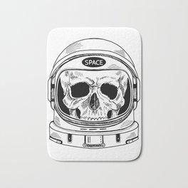 space  skull Bath Mat