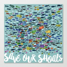 Save Our Shoals Canvas Print