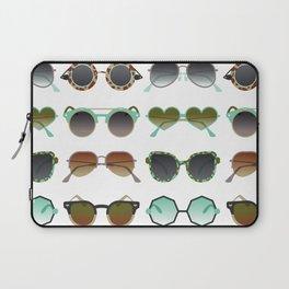 Sunglasses Collection – Mint & Tan Palette Laptop Sleeve