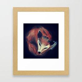 Sleepy head. Framed Art Print