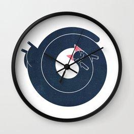 ~ kitensnegle ~ Wall Clock
