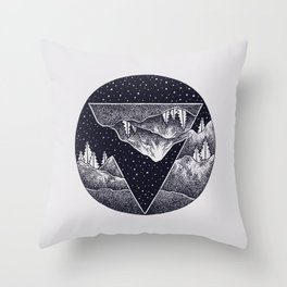 Different perspective Throw Pillow