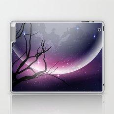 Face of the Moon Laptop & iPad Skin