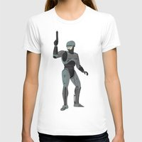 robocop T-shirts featuring Robocop by James White