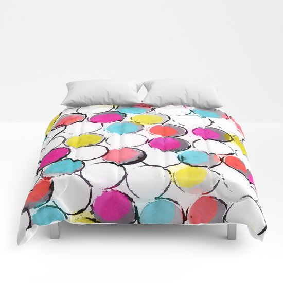 Circle Painting  Comforters