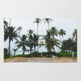 Basketball on Isla Bastimento, Bocas del Toro, Panama Rug