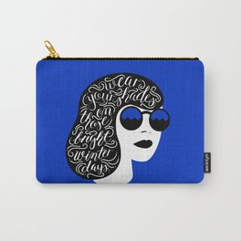 Wear Your Shades On Those Winter Days Carry-All Pouch