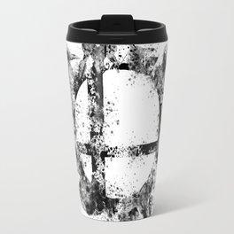 Super Smash Bros Ink Splatter Travel Mug