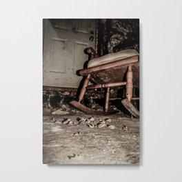 In the Basement Metal Print