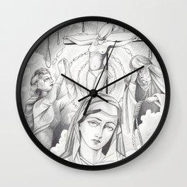 Prisoner of Reality Wall Clock