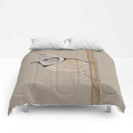 Crested tit Comforters