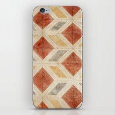 Rombos rojos iPhone & iPod Skin
