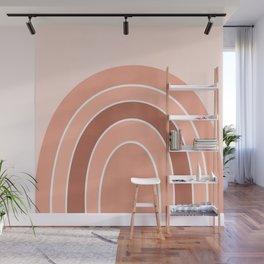 Rainbow arc - neutrals Wall Mural