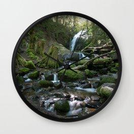 washington river Wall Clock