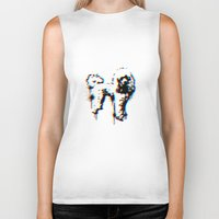 poodle Biker Tanks featuring poodle by gloriuos days