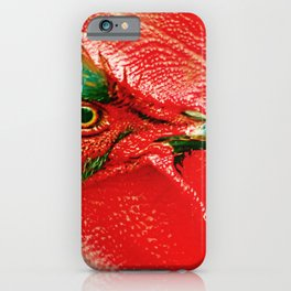 Fire Rooster iPhone Case