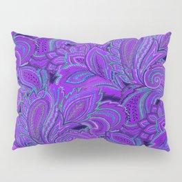 paisley paisley purple Pillow Sham