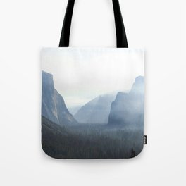 Morning in the Valley Tote Bag