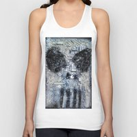 punisher Tank Tops featuring THE PUNISHER by JANUARY FROST