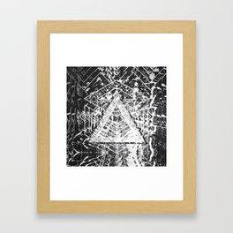 BW BG #01 Framed Art Print