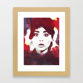 The Impossible Clara Framed Art Print