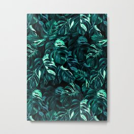 TROPICAL GARDEN XII Metal Print