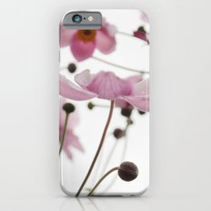 Pink Wild Flowers iPhone 6s Slim Case