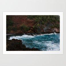 On the Beaches of Maui Art Print