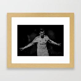 Gareth Bale Framed Art Print