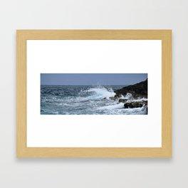 Waves Framed Art Print