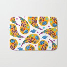 Paisley pattern #2F Bath Mat