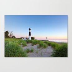 Big Sable Point Lighthouse - Ludington Michigan Canvas Print