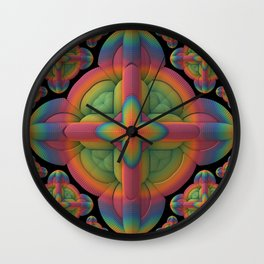 Obsessive Repetition Wall Clock