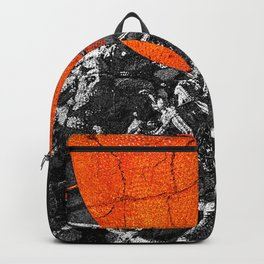 Basketball Art, Sports Artwork Backpack