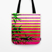 bamboo Tote Bags featuring Bamboo by Mr and Mrs Quirynen