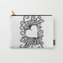 Heart Doodle 1407 Carry-All Pouch
