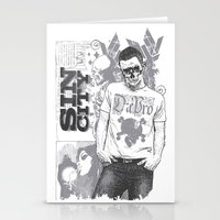 sin city Stationery Cards featuring Sin city by Tshirt-Factory
