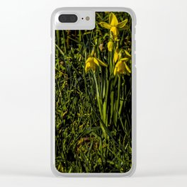 The Daffodil Crew Clear iPhone Case