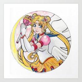 Eternal Sailor Moon Art Print
