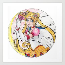 Eternal Sailor Moon Art Print